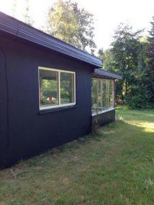 Maling af hus og vinduer