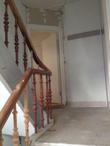 Maling trappeopgang boligforening