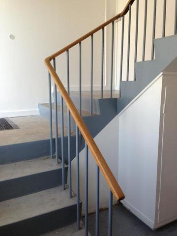 Renovering af trappeopgang efter