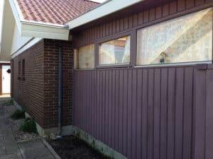 Malerarbejde udvendigt hus