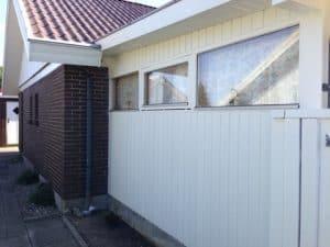 malerarbejde udvendigt hus færdigt